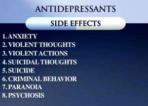 Anitidepressant Side Effects