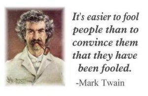 Easier To Fool Than Convince