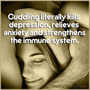 Cuddling Kills Depression