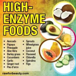 Raw Foods and Enzymes