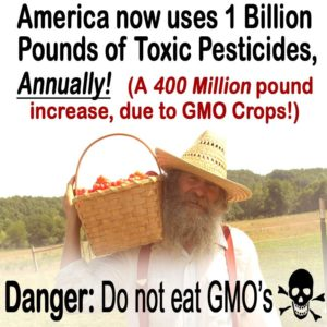 One Billion Pounds of Pesticides A Year