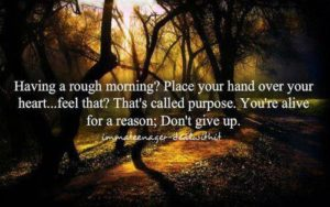 Rough Morning? Don't Give Up!