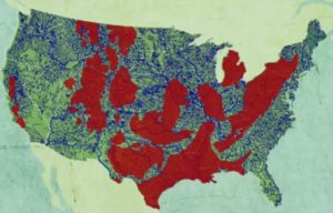Tap Water Unsafe Map US
