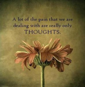 Pain From Thoughts