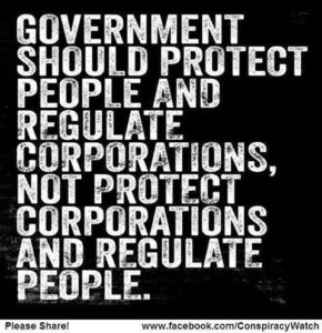 The Government Should Protect People And Regulate Companies
