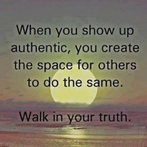 Show Up Authentic