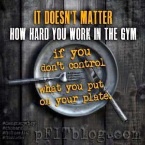 It Doesn't Matter How Hard You Work In The Gym...