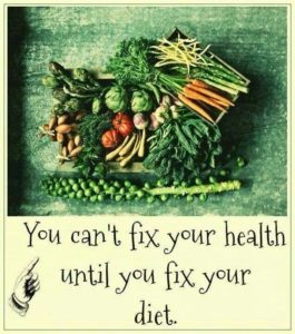 You Can't Fix Your Health Until You Fix Your Diet