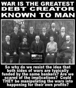 War Creates Debt