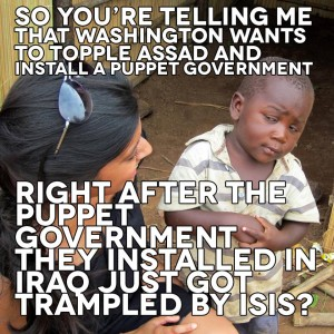 Who put ISIS in power, and how it was done