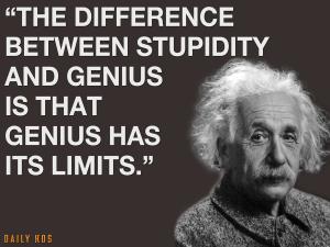 Genius Has Limits