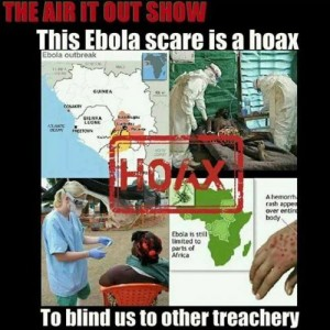 The Ebola Threat Is Promoted To Further Their Agenda