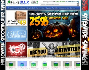PureBulk 25% Off Sale