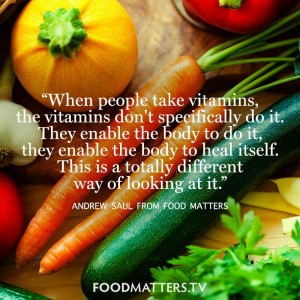 Vitamins Enable The Body To Heal Itself