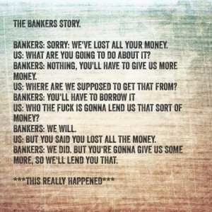 The Bankers Story