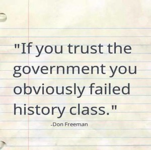 If You Trust Government