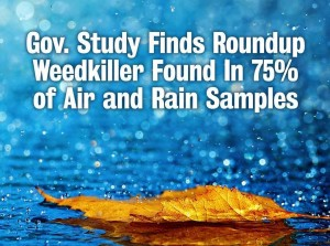 Roundup In The Air & Water