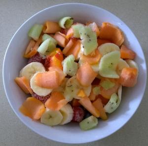 Fruit Salad Breakfast