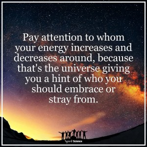 Pay Attention To Your Energy Levels