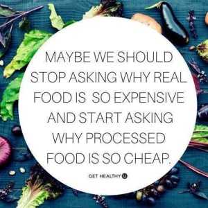 Why Is Processed Food So Cheap?