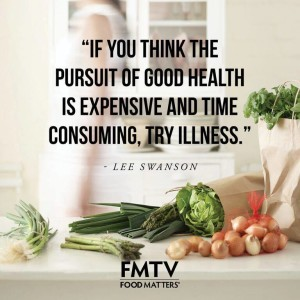 If You Think The Pursuit Of Health Is Expensive