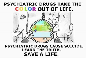 Psyche Drugs Take The Colour Out Of Life