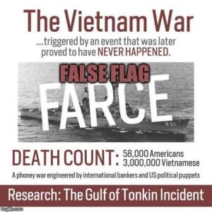 False Flag Started Vietnam