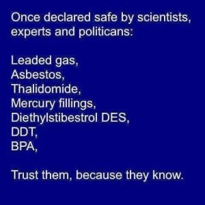 Once Declared Safe...