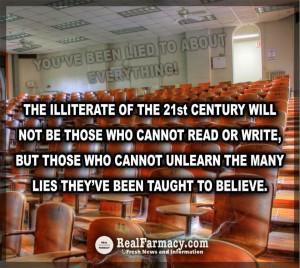 The New Illiterate