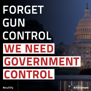 We Need Government Control