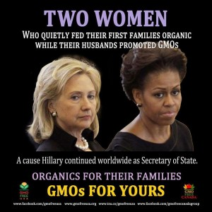 Organic For Mine, GMO For Yours