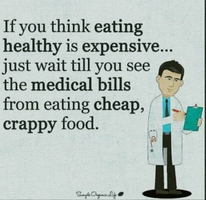 If You Think Eating Healthy Is Expensive