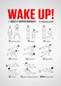 Wake Up Exercise Routine