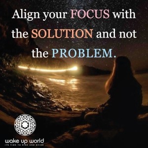 Align Your Focus With The Solution