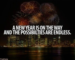 A New Year Is On The Way With Endless Possibilities