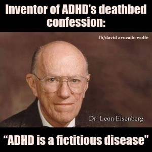 ADHD Is A Fictitious Disease