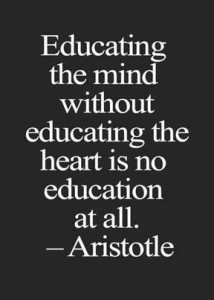 Educate The Heart Too