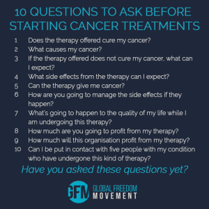Ten Questions To Ask Your Oncologist