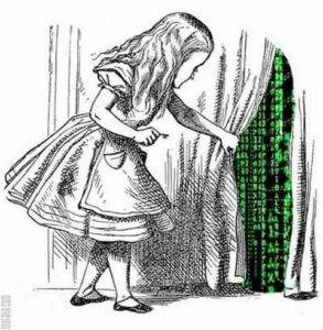 Alice Finds The Matrix