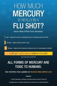 How Much Mercury Is In A Flu Shot?