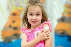 Vaccine Poster Child