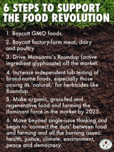 Six Steps To Support the Food Revolution