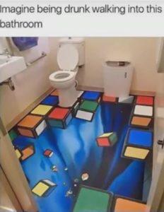 Bathroom Shock