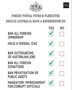 Referendum Topics