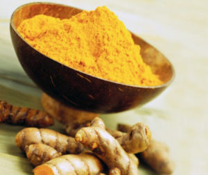 Turmeric, Root and Ground --- Image by © Steve Lupton/Corbis
