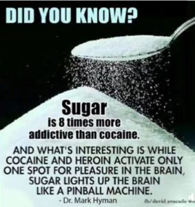 Sugar Eight Times More Addictive Than Cocaine