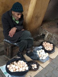 The Old Egg Seller