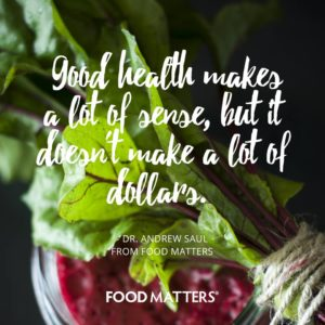 Good Health - A Lot Of Sense But Not A Lot Of Dollars